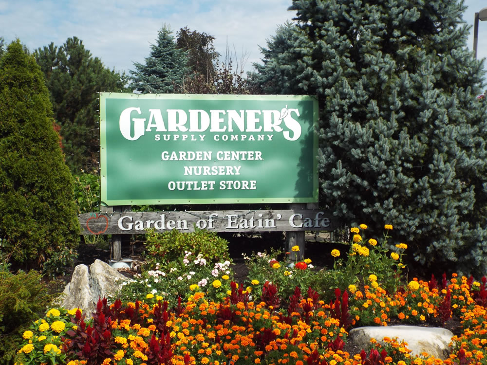 Gardener s supply williston garden center outlet vt for Gardeners supply company